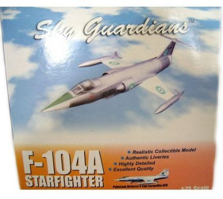 F-104A Starfighter Pakistani Airforce 1:72, Sky Gaurdians